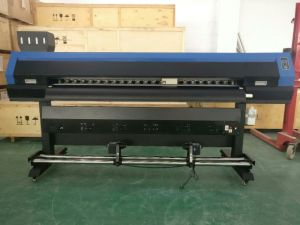 1.7m Large Format Eco Solvent Digital Printer Machine with Epson Dx10 for Banner pictures & photos