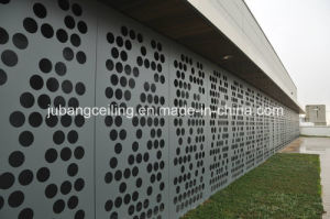 CNC Machine Perforated Aluminum Panel for Buiding Material