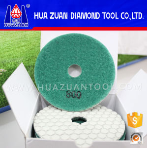 Hexagon Resin Flexible Dry Polishing Pad for Angle Grinder pictures & photos