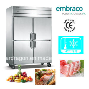 Stainless Steel Kitchen Refrigerator with Four Doors pictures & photos
