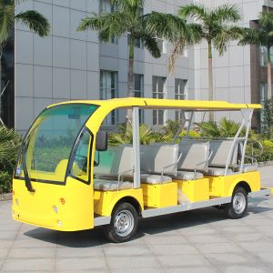 Electric 14 Seats Passenger Transfer Bus for Attractions (DN-14) pictures & photos