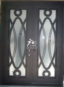Modern Wrought Iron Entry Doors pictures & photos
