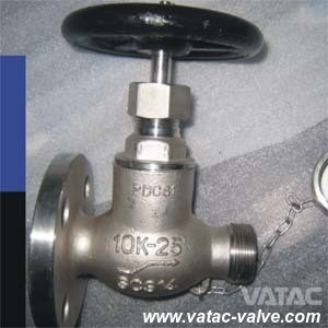 JIS 5k/10k A216 Wcb/CF8/CF8m/Ss304/Ss316 Flange Marine Hose Valve Manufacturer pictures & photos