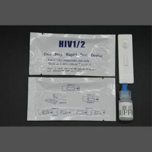 Std Test Rapid HIV Test Strip Cassette pictures & photos