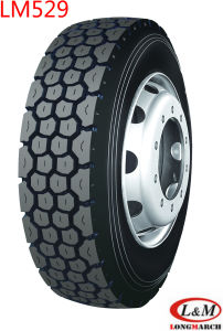 1200R20 Longmarch Drive/Trailer Position Tire with Tube (LM529) pictures & photos