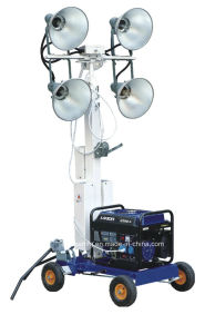Mobile Light Tower with 3kVA Generator pictures & photos