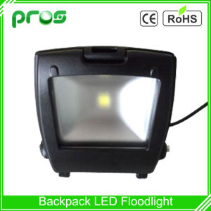 110lm/W Waterproof LED Floodlight 30W Black Backpack pictures & photos