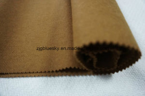 Wool Fabric for Overcoat Woolen and Double Faces pictures & photos