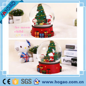 Details About Personalised Glass Snow Globe Christmas Birthday Gift Santa pictures & photos