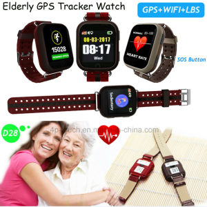 Fitness Portable GPS Tracker Watch with Real Time Tracking D28 pictures & photos