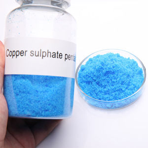 High Purity Copper Sulphate Pentahydrate 98.5%Min Feed Grade pictures & photos