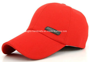 Custom Red 6 Panel Ball Baseball Baseball caps pictures & photos