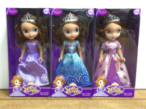 """Doll Toy Princess Sofia 9"""" with Crown 3 Assted (H9538256) pictures & photos"""
