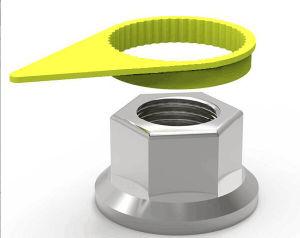 Jayin China Manufacturer Yellow Wheel Nut Loose Indicator in PE+PP