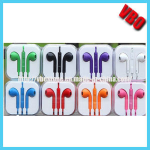 Earphone with Mic & Remote for iPhone/Mobile Phone pictures & photos