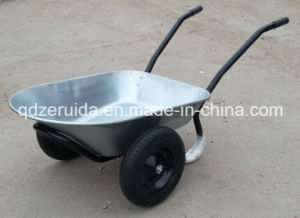 Strong Two Wheels Wheelbarrow Wb6406 pictures & photos