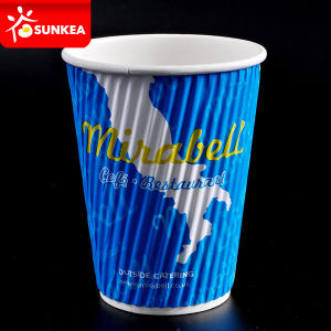 12 Oz Hot Drink Coffee Cup with Lid pictures & photos