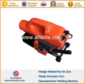 Plastic Overlap HDPE PVC LLDPE Geomembrane Hot Wedge Welder pictures & photos