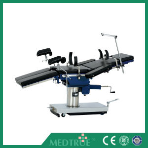 Medical Surgical Universal Manual Operating Table (MT02010103) pictures & photos