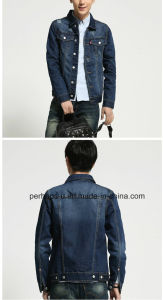 Hot Sale Mens Jacket Fashion Casual High End Denim Coat pictures & photos
