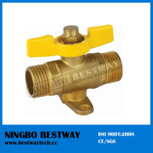 T Handle Male Ends Brass Gas Valve (BW-B134) pictures & photos