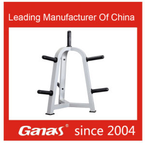Ganas Heavy Duty Body Building Equipment Plate Tree Indoor Gym Made in China