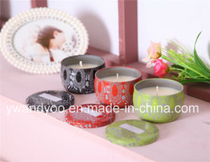Romantic Scented Soy Tin Candle Gift Set pictures & photos
