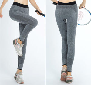 Wholesales High Quality Fitness Nylon Yoga Pants (14241) pictures & photos