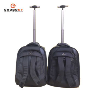 Chubont Hot Sell Laptop Best Rolling Trolley Backpacks pictures & photos