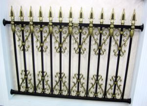 Fashional Luxurious Villa Aluminum Fence