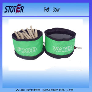 Pet Nylon Bowl/Fold Oxford Bottle/ Dog Bottle and Bowl pictures & photos