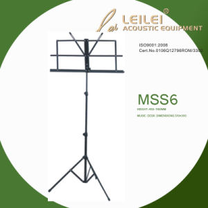 Tripod Base Music Sheet Stand (MSS6) pictures & photos