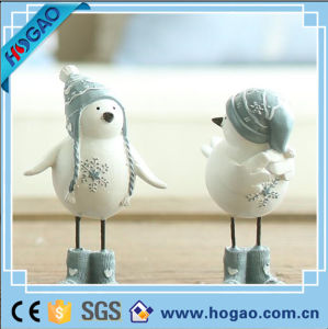 OEM Lovely Resin Snowman for Garden Decoration pictures & photos