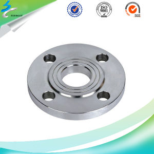 Stainless Steel CNC Digital Controlled Lathe Machine Flange Plate pictures & photos