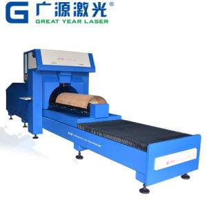 Rotary Die Board Laser Cutting Machine with One-Head Laser pictures & photos
