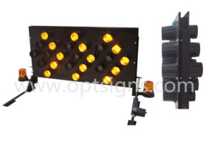 Optraffic Vehicle Mounted LED Light Road Safety Directional Arrow Board pictures & photos