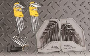 Hand Tools Accessories Hex Key Set Met. & Imp. DIY OEM pictures & photos