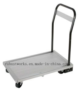 Aluminium Platform Hand Trolley (HT041) pictures & photos