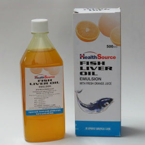 Cod Liver Oil Syrup with Orange Juice pictures & photos