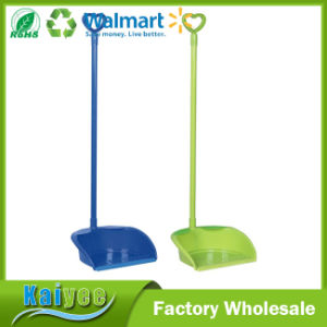 Household Folding Plastic Dustpan with Long Handle pictures & photos