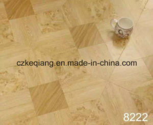 Smooth High Gloss Surface Art Parquet Laminated Laminate Flooring