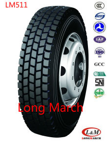 295/80R22.5 TBR Long March / Roadlux Radial Truck Tire with EU (LM511) pictures & photos