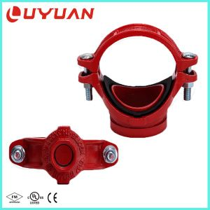 """UL Listed, FM Approved, Mechanical Tee 4""""X3′′ with Grooved Outlet pictures & photos"""