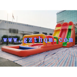 Funny Giant Inflatable Water Slide for Kids and Adults/Inflatable Hippo Slide pictures & photos
