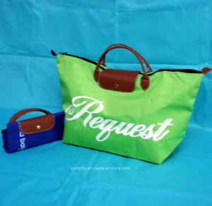 Promotional Fashion Foldable Polyester Shopping Tote Bags pictures & photos
