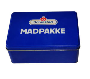 Wholesale Cookies Tin Box with Custom Artwork pictures & photos