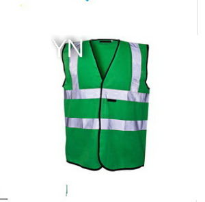 Green Hi Vis Reflective Safety Vest pictures & photos