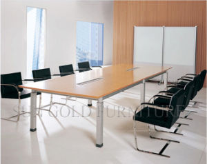 Wooden Furniture Wholesale Luxury Meeting Conference Table for 8 Person pictures & photos