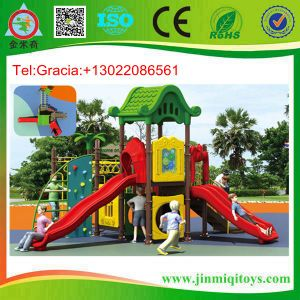Plastic Outdoor Playground, Playground for Children, Kid′s Playground Jmq-P043A