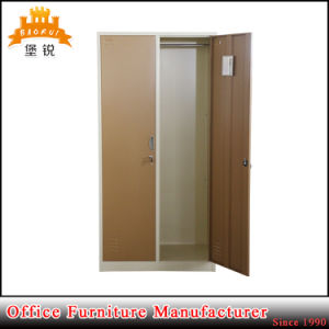 Steel 2-Door Metal Storage Wardrobes Office Furniture Cabinets Locker pictures & photos